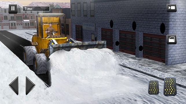 snow truck simulator