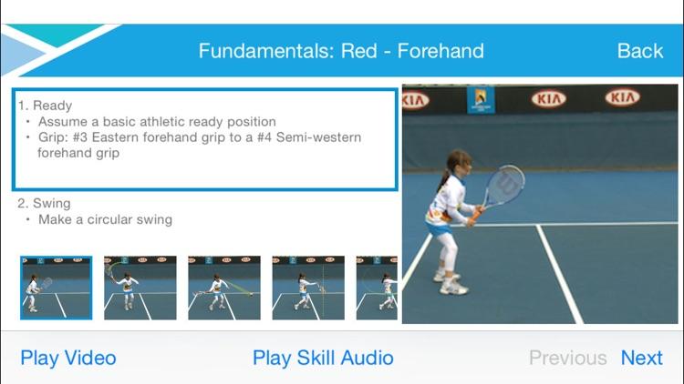 Tennis Australia Technique