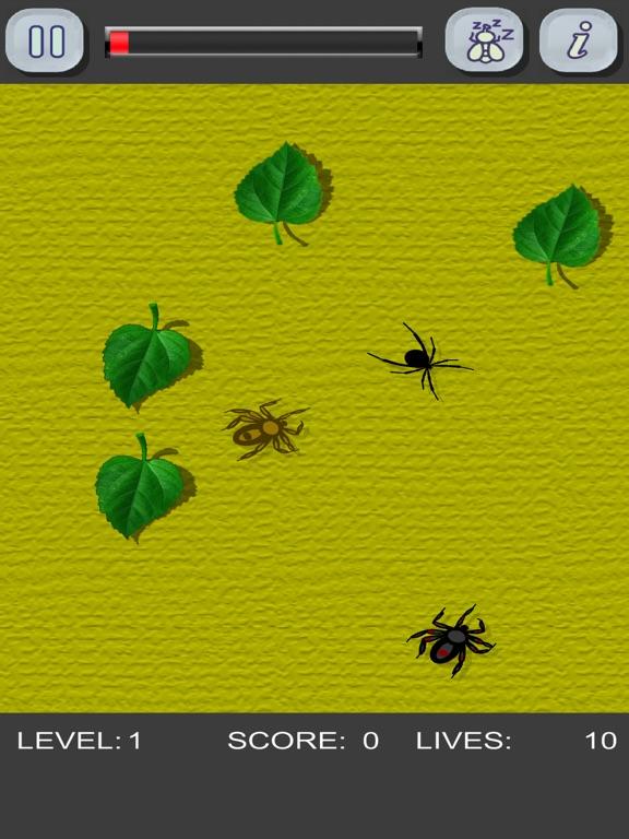 Игра Убей пауков! Только не трогай