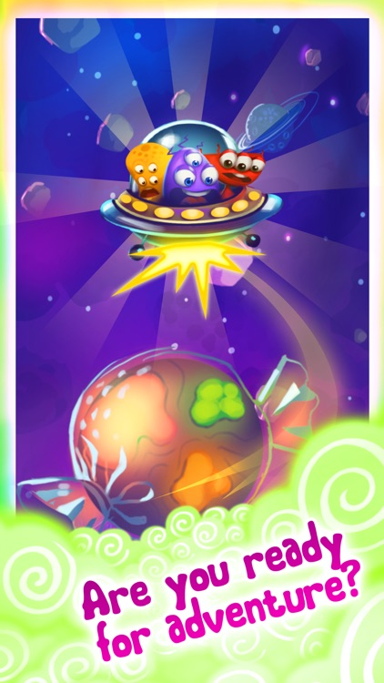 Candy UFO - match 3 puzzle game screenshot-4