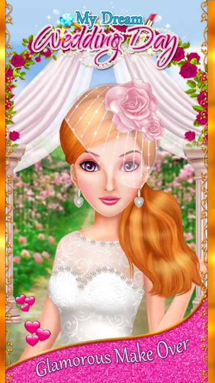 My Dream Wedding Day - Girls Makeup, Makeover & Dressup Salon