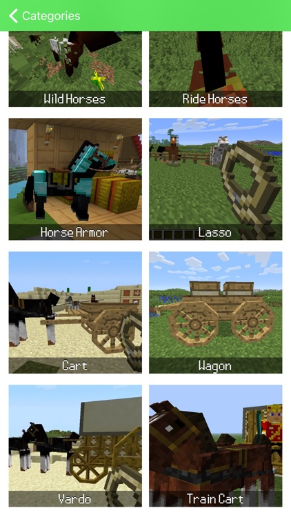 HORSES MOD for Minecraft Game - Pocket Guide PC Edition