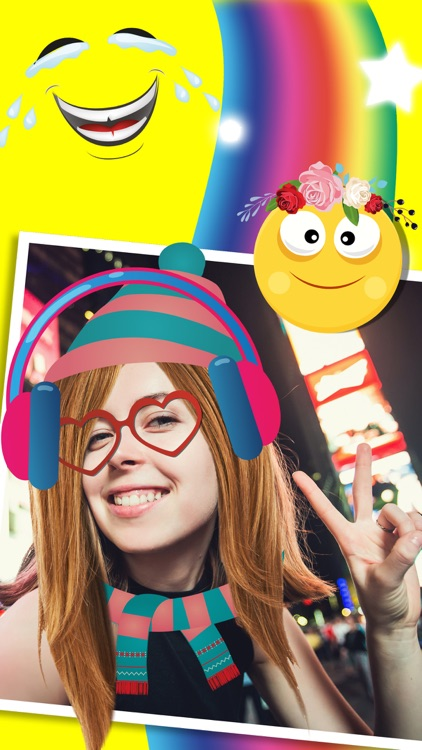 Snap photo editor of photos for face effects with stickers for selfies - Premium screenshot-3