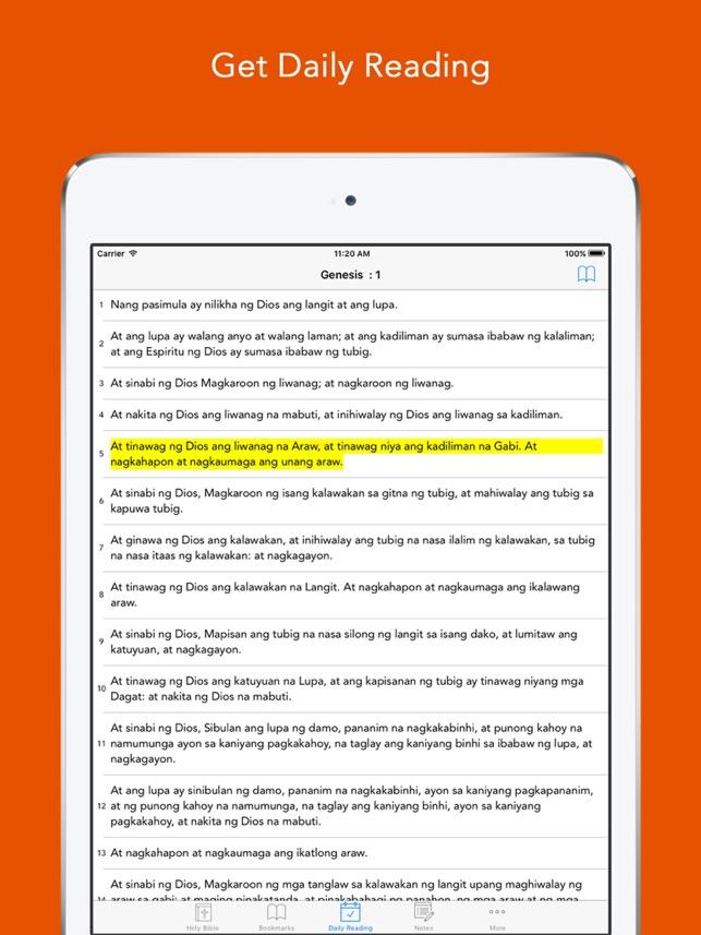 Tagalog Bible (Ang Biblia): Easy to use Bible App in Flipino