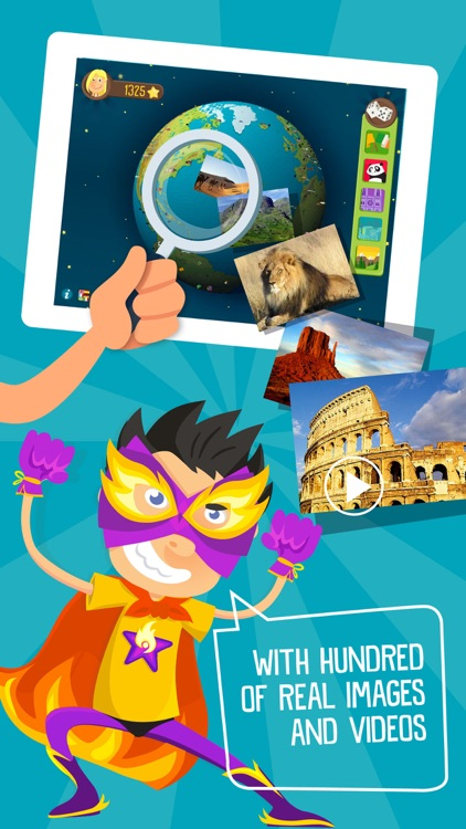 Atlas 3D for Kids – Games to Learn Geography (P)
