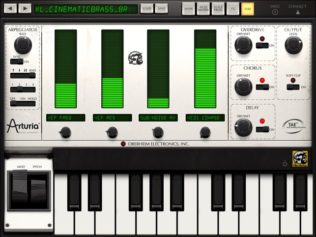 iSEM Synthesizer Screenshot