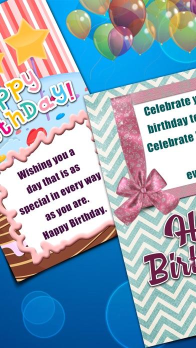 Virtuelle Geburtstag Kartenhersteller - Alles Gute Zum Jubiläum mit Bunten Hintergrund und TextScreenshot von 4