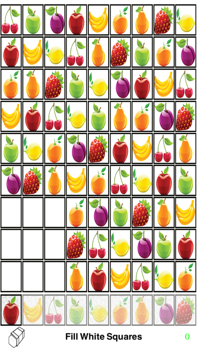 One Block Fruit Sudoku