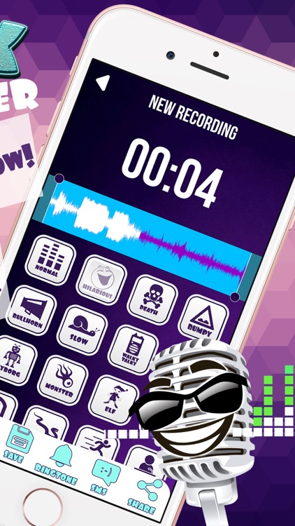 Prank Voice Modifier Free – Funny Sound Changer and Audio Record.er with Cool Effects