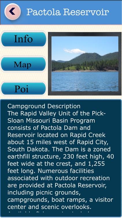 South Dakota Campgrounds & RV Parks Guide screenshot-3