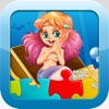 Mermaid Games for kids - Cute Princess Train Jigsaw Puzzles for Preschool and Toddlers