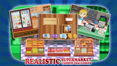 cajera de supermercado - manejar la caja registradora en este juego de simulación para los niñosCaptura de pantalla de2