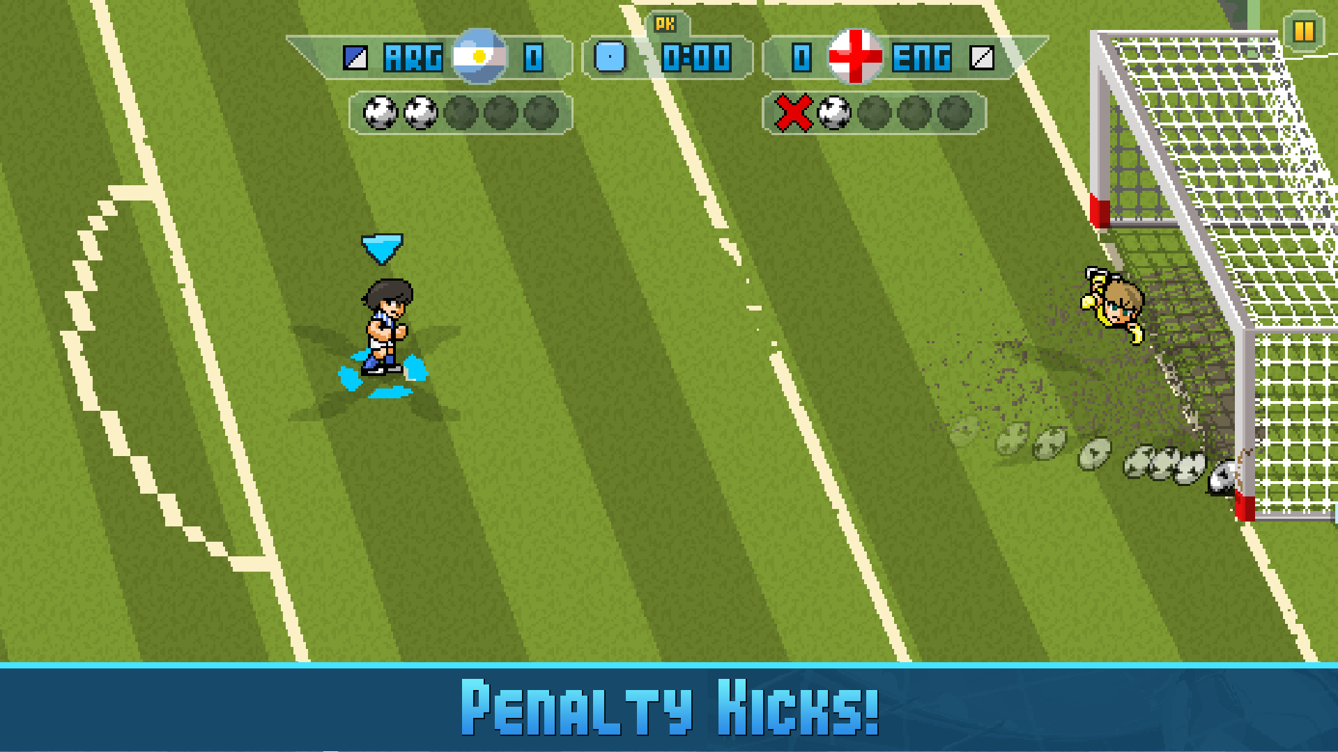 Pixel Cup Soccer 16 screenshot 13