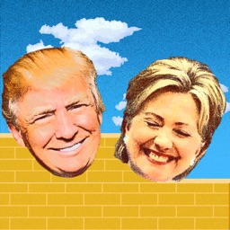 Hillary Trump Wall Jump Game