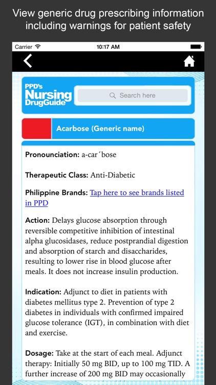 Nursing Drug Guide screenshot-3