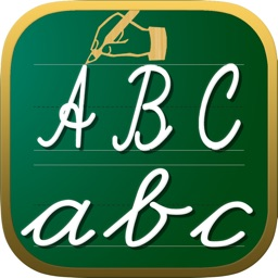 Handwriting Worksheets ABC 123 Educational Games For Children : Learn To Write The Letters Of The Alphabet In Script And Cursive