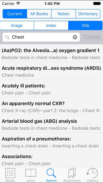 Oxford Handbook of Clinical Medicine,Ninth Edition screenshot-3