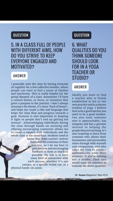 Asana International Yoga screenshot three