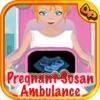 Princess Pregnant Emergency Ambulance - maternity games for girls