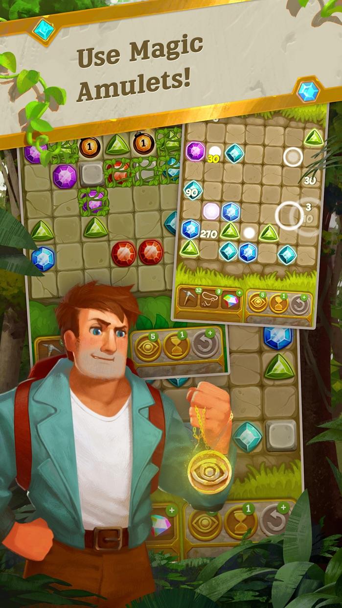 Gemcrafter: Puzzle Journey Screenshot
