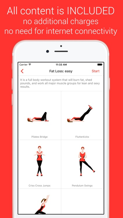 Fat Burning Workout - Your Personal Fitness Trainer for losing weight and gain muscle screenshot-0