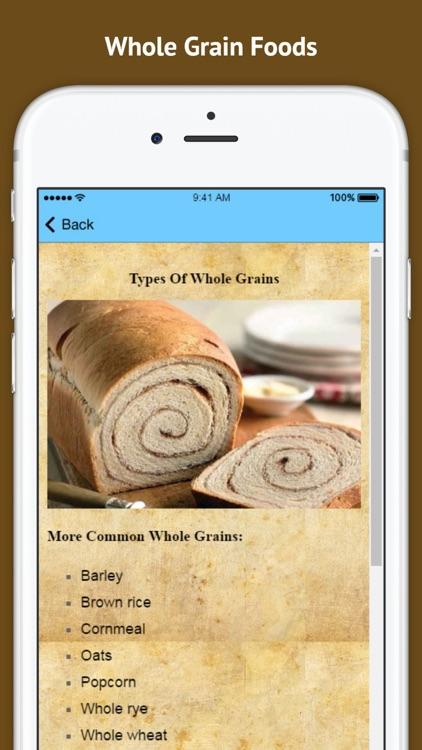 Benefits of Whole Grain Foods screenshot-3