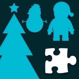 Festival jigsaw puzzle for kids : Chrismas, Easter and  Hallloween puzzles