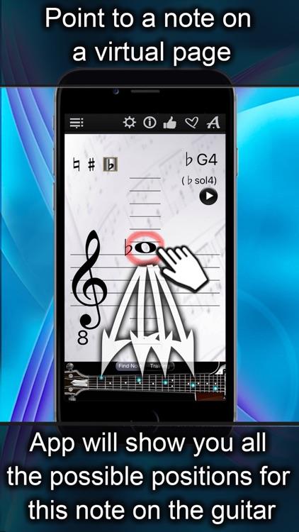 Guitar Notes Finder screenshot-0
