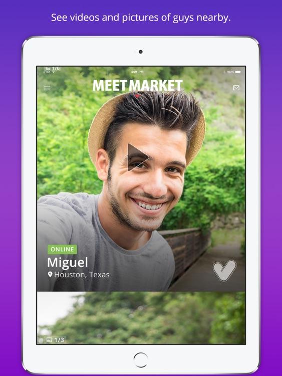 Meet Market - Free Gay Dating App