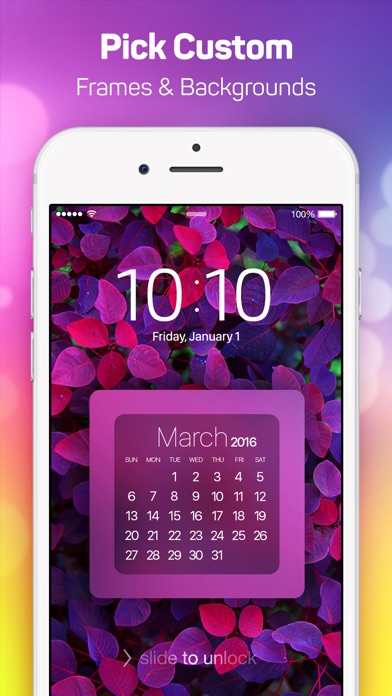 Lock Screen Designer Free - Lockscreen Themes and Live Wallpapers for iPhone. by Julien Curro (iOS, United States) - SearchMan App Data & Information