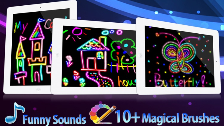 Kids Drawing HD - Free Kids Color Draw & Paint Games on Pictures