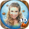 水族馆箱鱼缸3D图片 – 搞笑哈哈镜变形变脸相机照片处理