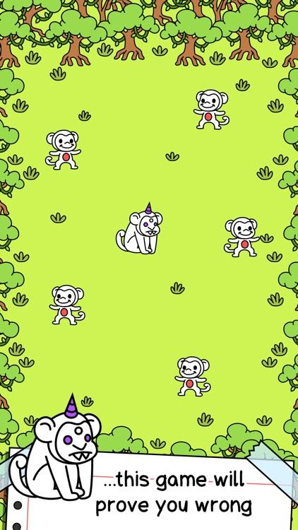 Monkey Evolution   Clicker Game of the Mutant Monkeys