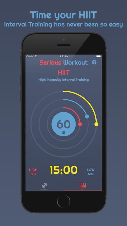 Serious Workout Timer