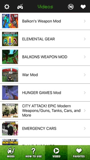 Vehicle & Weapon Mods FREE - Best Pocket Wiki & Tools for Minecraft