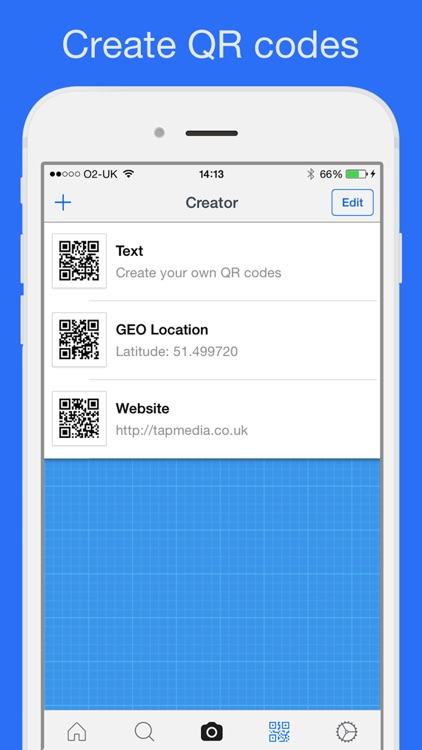 QR Reader for iPhone screenshot-3