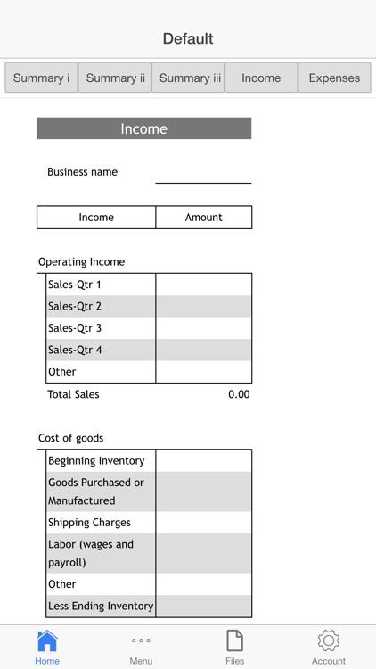 Goods Company Budget
