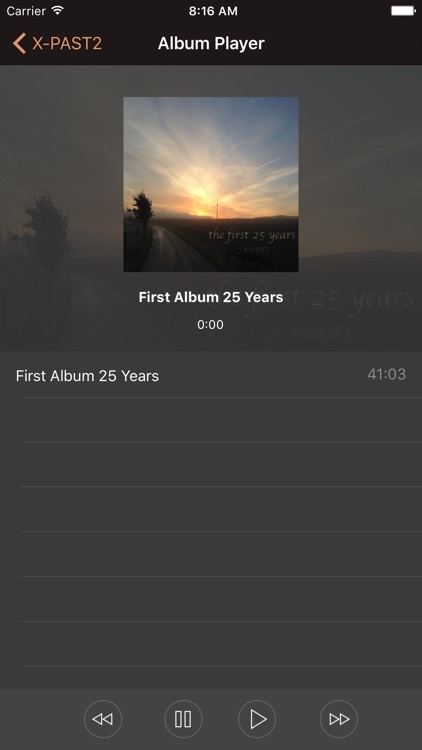 for X-PAST2 - Music Player screenshot-3