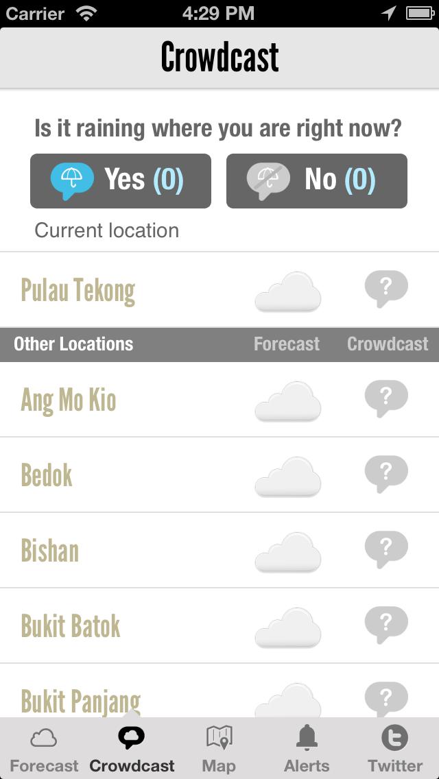 WeatherLah: Singapore Weather App with PSI Trend Widgetのおすすめ画像1