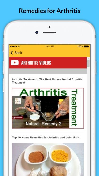 Arthritis - Signs of Arthritis and Natural Remedies screenshot-3
