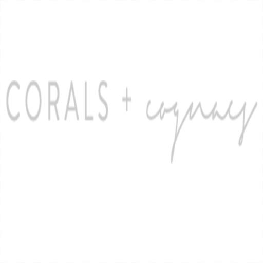 Corals + Cognacs