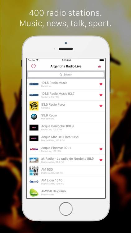 Radios de Argentina - Las principales emisoras de radio : música, noticias,  deportes, Buenos Aires, Spanish, español by Le Anh Dung