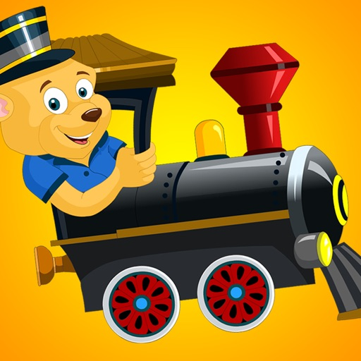 First Words Train For Kids