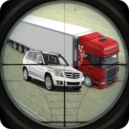 Highway Shooter : Traffic Sniper 3D