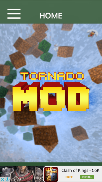 TORNADO MOD - Tornado Mod For Minecraft Game PC Pocket Guide Editionのおすすめ画像1