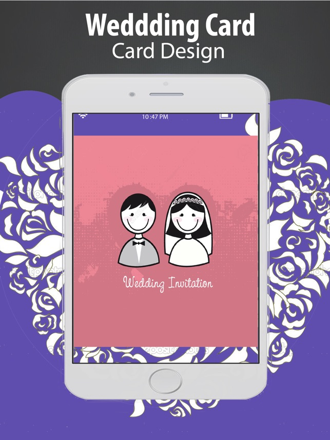 online wedding invitation free websites%0A Invitation Cards for all occasions  u     best birthday ecard s maker Wedding  Invitation on the App Store