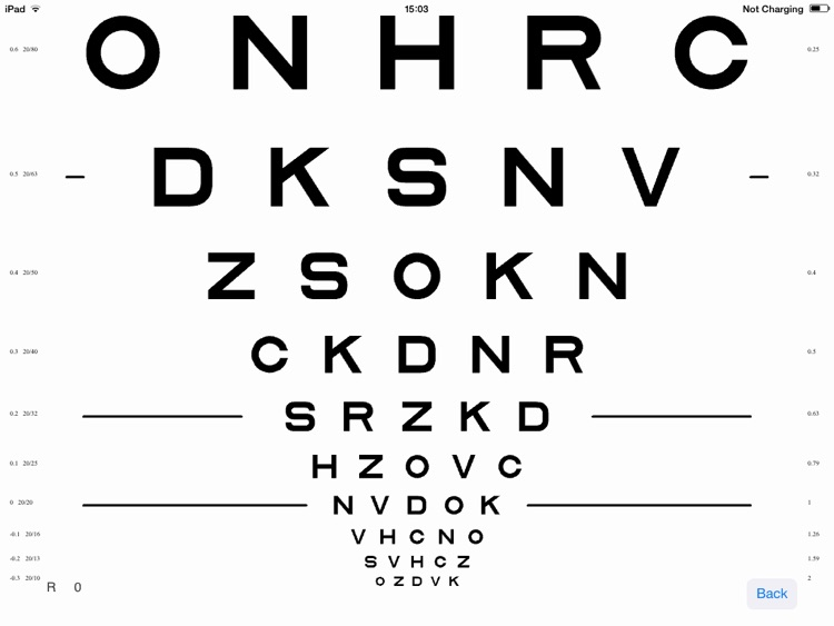 VisionC (Visual Acuity & Contrast Sensitivity Chart)