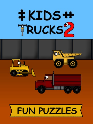 Детские грузовички: Пазлы 2 на iPad
