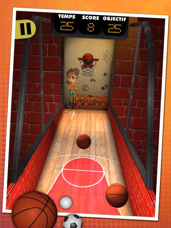 Баскетбольный стрелок на iPad