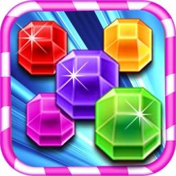 Diamond Jewels Mania Story - Free kids match puzzle game